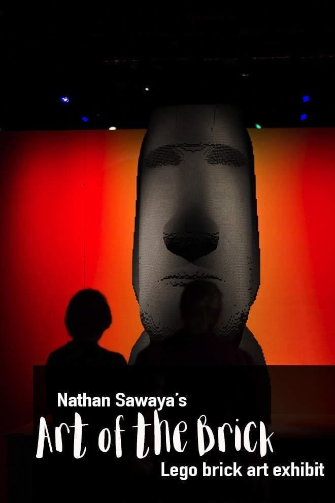 Nathan Samaya\'s Art of the Brick exhibition visited Seattle. It\'s an art exhibit using Lego bricks as the media.