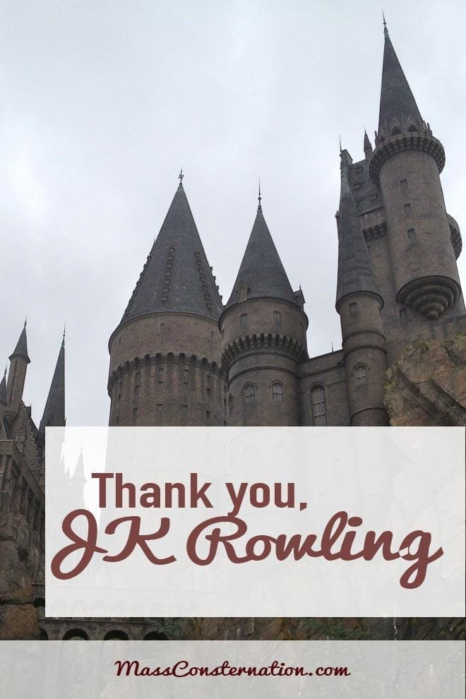 Thank You, JK Rowling. You Changed My Life