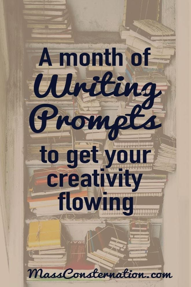 A Month of Writing Prompts to Get Your Creativity Flowing
