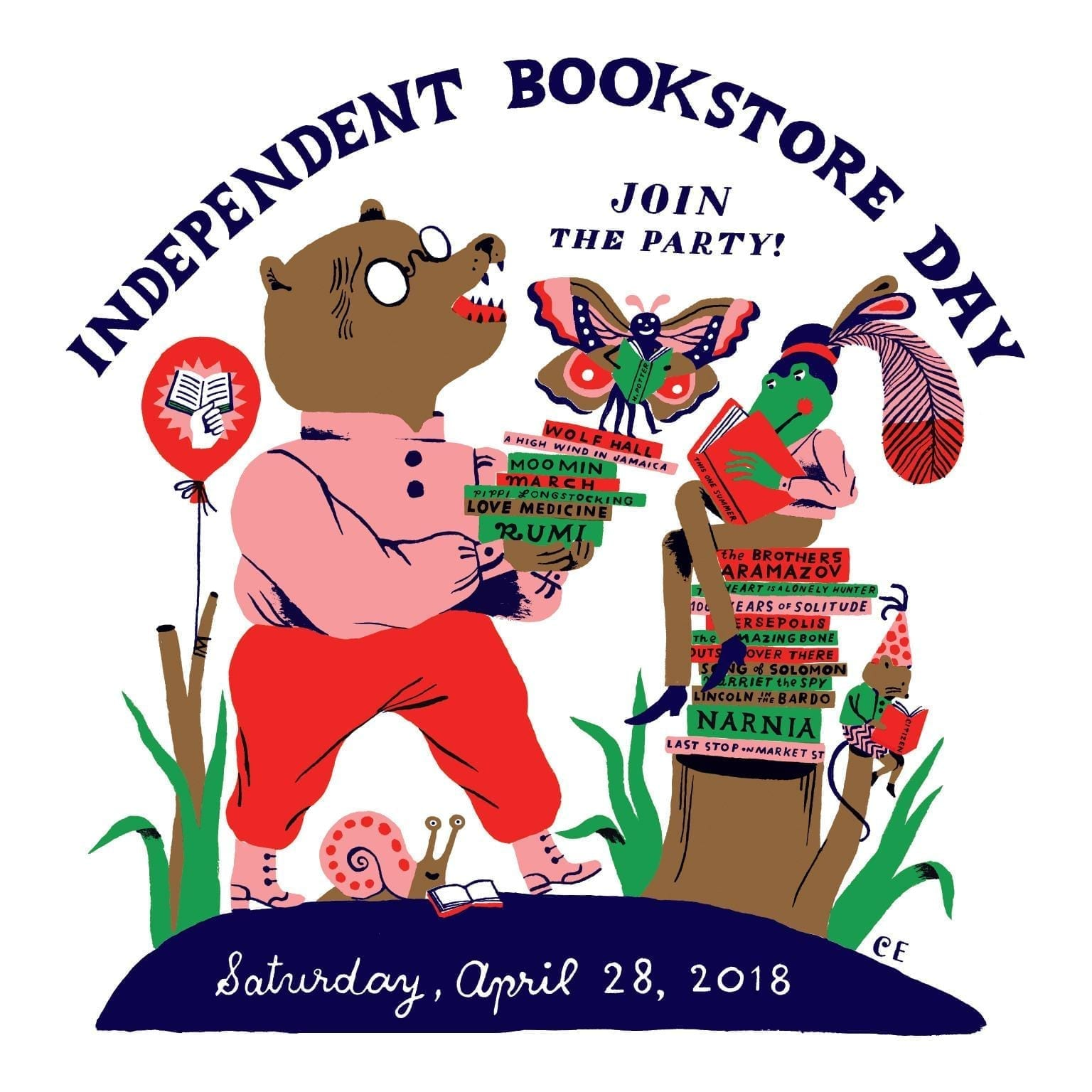 Touring Bellingham for Independent Bookstore Day