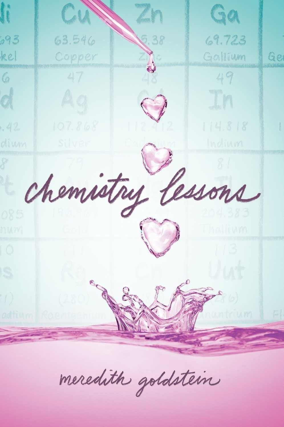 Can science win them back? That\'s what Maya attempts in Chemistry Lessons: the new Young Adult novel by Meredith Goldstein.  #YA #YABook #ChemistryLessons #BookBlogger #BookReviews