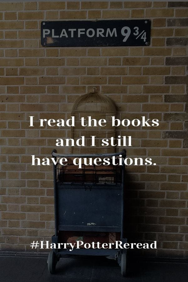 I Read Harry Potter and the Chamber of Secrets and Need Some Answers