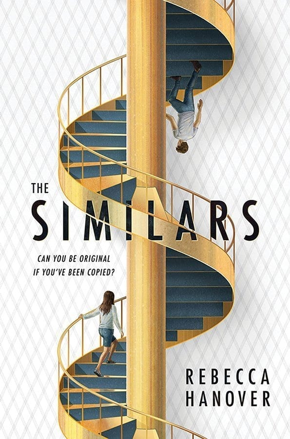 When six clones join Emmaline's prestigious boarding school, she must confront the heartbreak of seeing her dead best friend's face each day in class. Technically true but The Similars by Rebecca Hanover is much more complex.