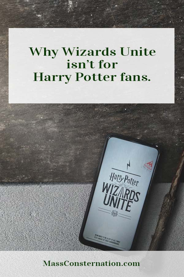 Wizards Unite was meant to be the new Pokemon Go, but it misses its potential and leaves nothing for Harry Potter fans.  #Games #HarryPotter #Niantic #WizardsUnite #WizardingWorld #PokemonGo #MassConsternation
