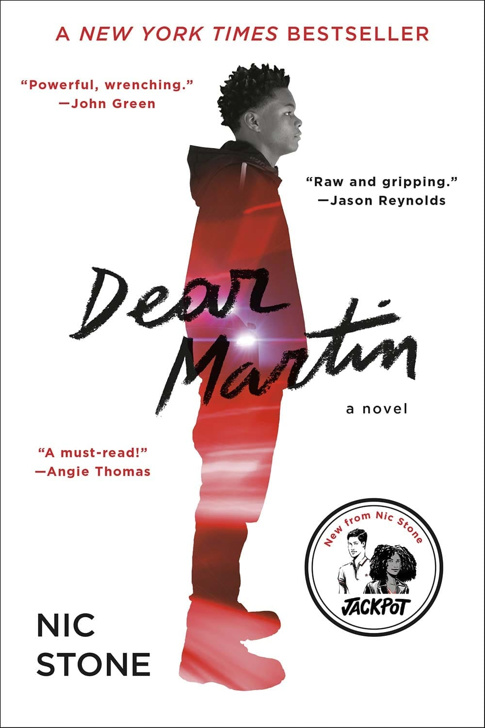 Justyce is heading to Yale and has a promising future, once he navigates growing up black in Dear Martin by Nic Stone.