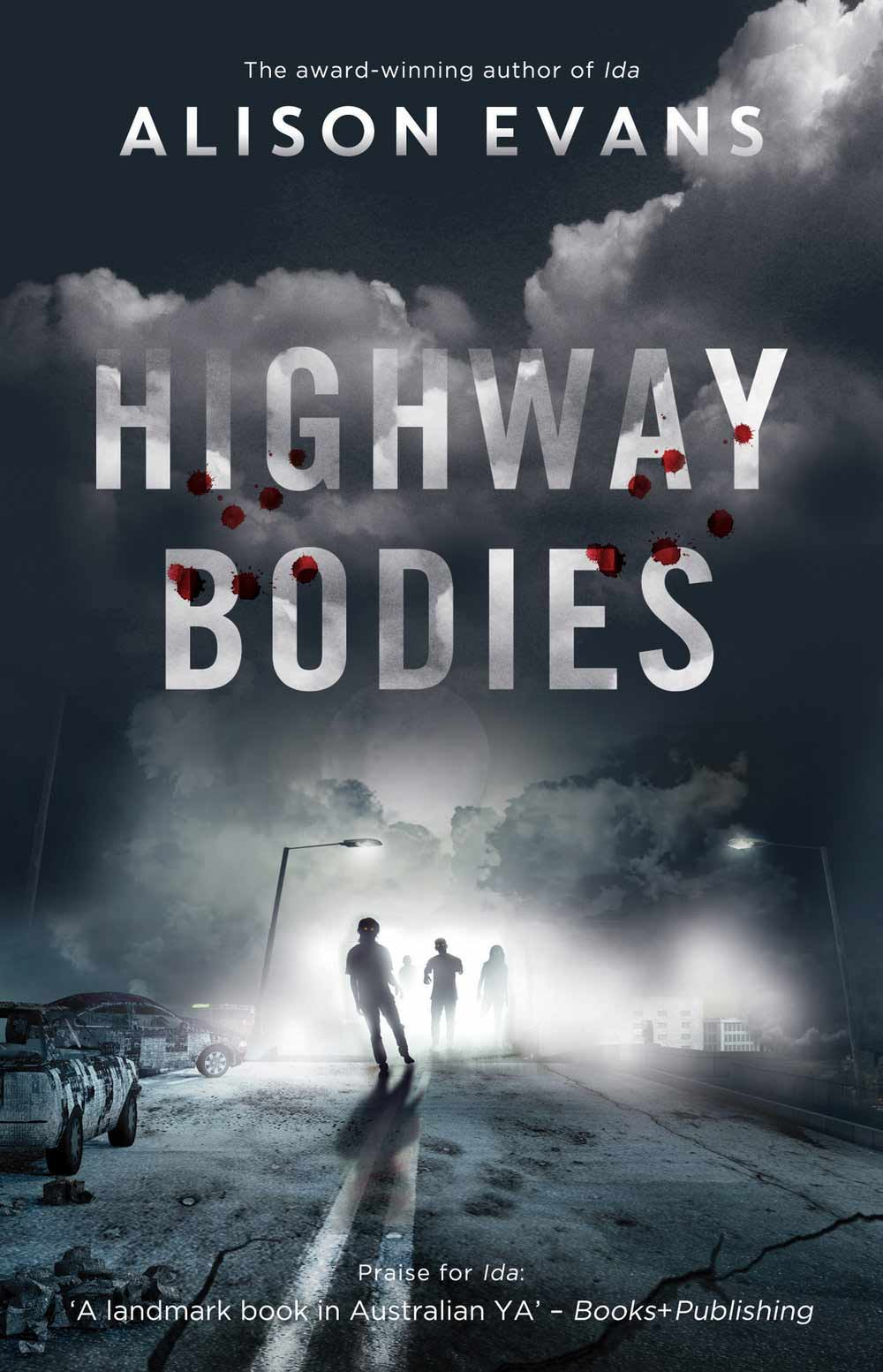 Who will you rely on in the zombie apocalypse? Highway Bodies by Alison Evans
